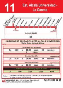 bus 11 Uni - Garena