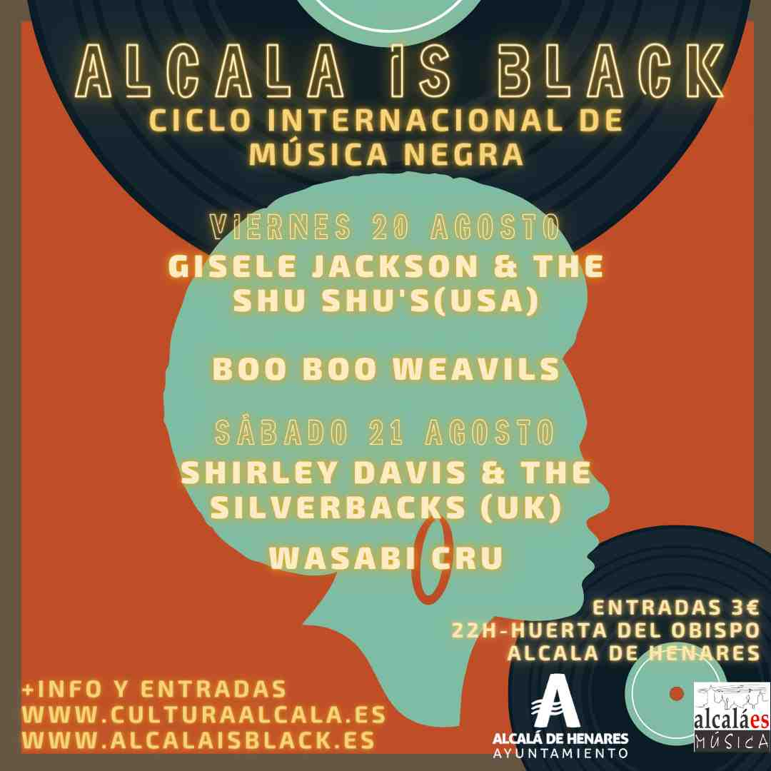 ALCALA IS BLACK