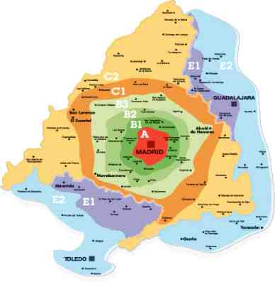 MAPA ZONA TARIFARIA
