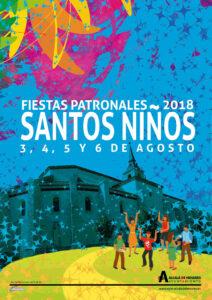 CARTEL SANTOS NIÑOS