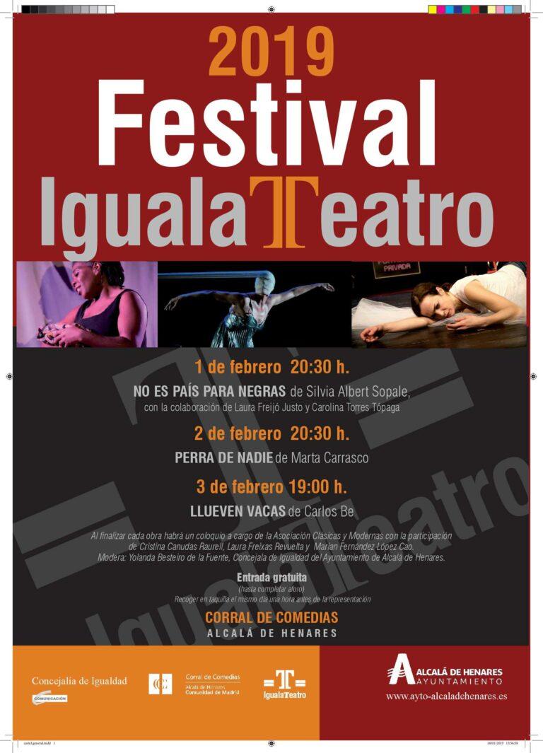 Festival iguala teatro 2019