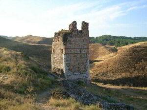 Torreón de la antigua fortaleza árabe